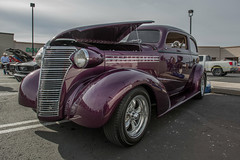 Sweet Chevrolet (Brad Prudhon) Tags: 2017 arizona auto automobile christmascarshow december purple safford car hot restored rod show chevy chevrolet