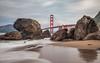Marshall's Beach, CA (Juan Pablo J.) Tags: yellow bayarea beach bridge beautiful blue california color canon5dmkii coast canon24105mmf4l coastline clouds goldengatebridge