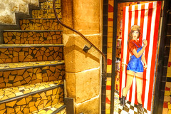 toilette? (albyn.davis) Tags: paris toilette stairs door colors birght vivid vibrant