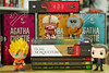 Livros & Esmaltes & Funkos [Novembro 2017] (Cinthia Emerich) Tags: livro book bookhaul funko funkopop popvinyl agathachristie goku dbz dragonballz licker residentevil game maurice maninblack