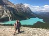 Banff National Park (absolutelyfabulous_darling) Tags: hiking mountains icefieldsparkway peytolake