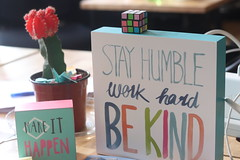 Be Kind (SavarkS) Tags: kind light happiness humble advice quote block cactus motivate motivation encourage anxiety mentalhealth