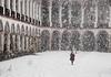 PC290109-Edit.jpg (marius.vochin) Tags: religion christianity ceilling bulgaria winter rila monastery people church architecture art panorama splitview painting snowing rilskimanastir kyustendil bg