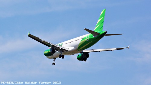 Citilink Indonesia Airbus A320-232; @SUB 2013