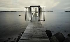 no trespassing (liebeslakritze) Tags: kitzeberg steg jetty privat notrespassing water longexposure langzeitbelichtung kielerförde förde fjord kielfjord balticsea ostsee meer sea winter