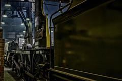 Lady of Legend (Peter Leigh50) Tags: gwr saint class locomotive railway works workshop boiler tender frames cab
