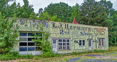 lj herman nd hand shop (avflinsch) Tags: ifttt 500px urban green decay shop store abandon lj herman