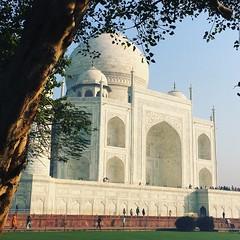 Taj Mahal another perspective (Eustaquio Santimano) Tags: taj mahal minaret leaning agra india mumtaz shah jahan for beloved