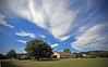 Clouds - Anderson S.C. (DT's Photo Site - Anderson S.C.) Tags: canon 5d classic 1740mml lens andersonsc upstate southcarolina scenic summer country roads cirrus clouds blue backyard yard landscape