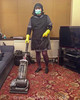 Grey Overall & Black Tabard 13 (Maid Janet) Tags: bandana tabard sissy charwoman housework housekeeper crossdresser overall sissymaid cleaning tranny hoovering crossdressing putzfrau maid headscarf char rubbergloves domestic cleaner chores housemaid housekeeping housewife chambermaid headtriangle scrubber skivvy marigolds