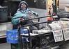 Got My Newspaper and a Smile (J MERMEL) Tags: lady newspapers newsdealer harlem