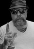 Finger Selfie. . . (CWhatPhotos) Tags: cwhatphotos back white mono monochrome self photographs photograph pics pictures pic picture image images foto fotos photography that have which with contain mk digital camera lens micro four thirds em5 ii me man male portrait selfee selfie mine face dark shadow light studio lights shadows pose pork pie hats hat sun glasses shades round steam punk poser big tash moustache moustashe emotional dramatic leather