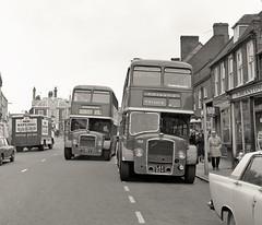 Double LD (Lost-Albion) Tags: unitedcounties nbc bristolld ecw nbd915 lax624 leightonbuzzard bedfordshire 1972