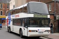 517 YN51 XMZ (Cumberland Patriot) Tags: trathens travel services ltd plymouth devon neoplan skyliner 517 yn51xmz national express double deck decker coach coaches carlisle bus station