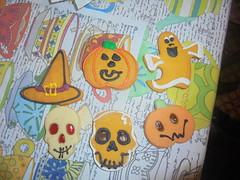 836 (en-ri) Tags: biscotti biscuits halloween sony sonysti arancione fantasma ghost zucca teschi skulls rosso