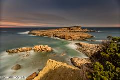 Puesta de sol en Calo de s'illa (pgranm) Tags: ibiza calodesilla caloodencalders formentera salinas sesbalandres