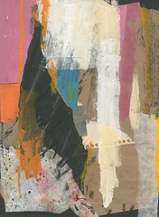 (laurie olson) Tags: abstract analog art laurieolsonart collage handmade cutandpaste contemporary colorful mixedmedia modern markmaking
