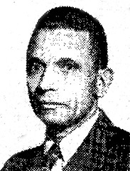 Cafeteria Local 471 leader Oliver Palmer: 1945 (washington_area_spark) Tags: oliver t palmer united cafeteria restaurant workers union local 471 washington dc labor trade government services inc strike walkout red scare business manager president federal public upw cio afl 1945