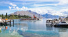 The landscapes of Queenstown, South Island, New Zealand (10) (geemuses) Tags: queenstown lakewakatipu canon 6dmkii newzealand southisland mountains lakes water freshwater scenery scenic landscapes colour color blue green cloud sky lake road walk landscape