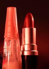 """Lit by Candlelight"" (Maria A Monteiro) Tags: macromondays litbycandlelight baton esmalte luzdevelas"