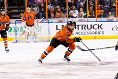"Kansas City Mavericks vs. Colorado Eagles, December 16, 2017, Silverstein Eye Centers Arena, Independence, Missouri.  Photo: © John Howe / Howe Creative Photography, all rights reserved 2017. • <a style=""font-size:0.8em;"" href=""http://www.flickr.com/photos/134016632@N02/25271499498/"" target=""_blank"">View on Flickr</a>"