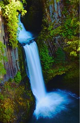 Toketee fall (shishirmishra1) Tags: wat nature water oregon portland sceneic outside beauty amazing view