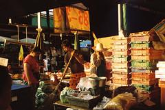 000013 (JarenDrew) Tags: bangkok thailand market klong toey 35mm film analogue fm2 kodak street