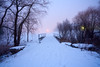 It's time of the year (AncasterZ) Tags: foggy fog christmas winter snow landscape holiday spirit seasonal greeting