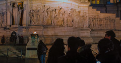 milite ignoto (dpbenoit) Tags: nightview monuments basrelief theunknownsoldier roma