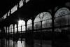 Arcade II (christikren) Tags: marienbad bw blackwhite christikren black backlight sw reflection silhouette tschechien light