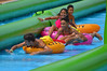 Happily closing the gap (radargeek) Tags: slidethecity 2016 summer july waterslide kids children child oklahomacity okc oklahoma downtown