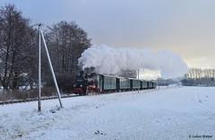 99 4633 in Beuchow (SteamLukas) Tags: 994633 rügen rasenderroland rübb baureihe99 vulcan stettin beuchow putbus göhren