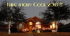 Rowlett - New Year 2018 (Drriss & Marrionn) Tags: rowlett rowletttx texas usa building buildings house houses decora decorations lights wishes grass tree