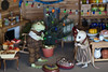 Christmas in Mousehouse 10 (peregrina_tyss) Tags: bjd christmas whisperinggrass toad frog mrquaker ropuha mouse missmouse manuna