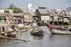Vietnam (Michael Zahra) Tags: asia asian southeastasia viet vietnam vietnamese travel tourism adventure exotic colour color colorful boat boats float river lake water ship market floating floatingmarket