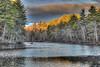 Sunrise (Pearce Levrais Photography) Tags: landscape sunrise reflection cloud hdr canon 7d markii illuminated birch coniferous pine tamarack spruce rock stone sunset