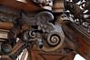 Gent, Oost-Vlaanderen, Sint-Niklaaskerk, pulpit, evangelist (groenling) Tags: gent ghent gand oostvlaanderen flanders belgium belgië be sintniklaaskerk pulpit preekstoel chaire wood carving woodcarving hout snijwerk houtsnijwerk bois cuppa kuip saint evangelist sint heilige john johannes eagle adelaar
