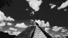 Chichen-itza (srouve78) Tags: chichenitza mexico mexique yucatan pyramids piramides noiretblanc