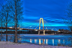 Kolbäcksbron III (johan.bergenstrahle) Tags: 2017 umeälv umeå december kolbäcksbron river umeriver vinter winter älv hdr finepics