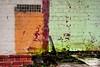 grungeness (holly hop) Tags: bealiba streets wall brickwall brokenwindow window abandoned derelict decay ruraldecay old empty green grunge mould damp tiles bricks hss sliderssunday postprocessing