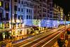 Llevas aquí casi toda la vida... (the nenuco 123) Tags: madrid nikon d5300 navidad christmas españa mercado de la reina larga duracion azul blue rojo red verde green gran vía main street