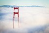 The Golden Hour (Chris Saulit) Tags: goldengate goldengatebridge ggb sanfrancisco fog aerial karl sf