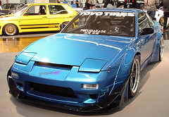 Custom 240SX (Schwanzus_Longus) Tags: essen motorshow german germany japan japanese asia asian modern car vehicle coupe coupé custom tuner tuned nissan 240sx s13 zenki