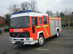 W657 EBW - Buckinghamshire (quicksilver coaches) Tags: volvo fl fl6 saxon sanbec volumax w657ebw buckinghamshire firerescue fireappliance fireengine buckingham