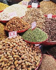 Nuts about you! #chandnichowk #delhi #olddelhi #markets #bazaars #india #dryfruits #spices #travel #instatravel #travelpics (VaibhavSharmaPhotography) Tags: nuts about you chandnichowk delhi olddelhi markets bazaars india dryfruits spices travel instatravel travelpics