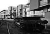 Vintage Carriage (RCS-photography) Tags: supension bridge bristol boats birds sea water docks harbourside harbour trains photography black white landscape