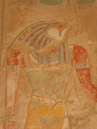 Horus, Deir el Bahri