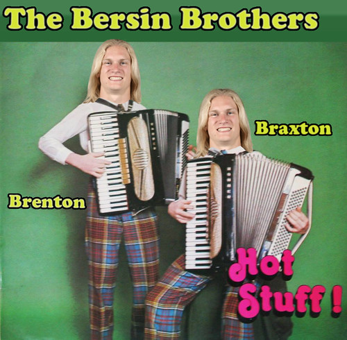 In 1981, Carolina Panthers receiver Brenton Bersin, along with his twin brother, Braxton, released a moderately successful polka album on Columbia Records.