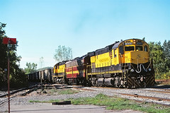 NYS&W 3000                   9-99 (C E Turley) Tags: railway alco c430 nysw