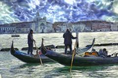 Venecia - paseo en gondola (Antonio-González) Tags: venecia gondola veneto italia angovi